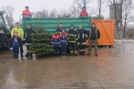Aktion Weihnachtsbäume JF