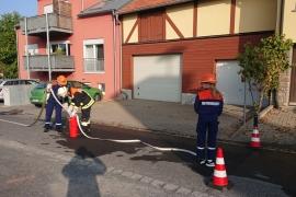 Wissenstest 2018 Jugendfeuerwehr Giebelstadt